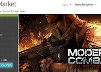 O Modern Combat 3 já está disponível no Android Market
