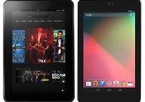 En détail : Google Nexus 7 vs Amazon Kindle Fire HD