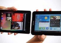 Google Nexus 7 vs Samsung Galaxy Tab 2 7.0 (Vídeo comparación)