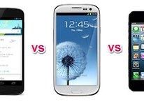 Google Nexus 4 vs Samsung Galaxy S3 vs Apple iPhone 5
