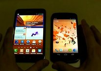 [Video] Samsung Galaxy Note vs. Galaxy Nexus in Everyday Performance