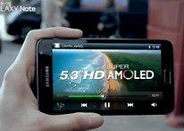 [Video] Offizieller Promo-Clip vom Samsung Galaxy Note erschienen