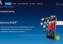 Galaxy Note, Galaxy Nexus und Motorola RAZR bald bei O2