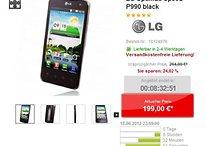 """[Deal] LG Optimus Speed – 4"""" Tegra 2 Smartphone für 199 €"""