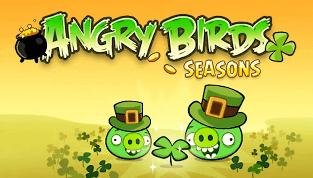"""Neue Level für Angry Birds - St. Patricks Day """"Edition"""" kommt morgen - UPDATE: Neue Level im Market erhältlich"""