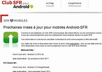 HTC Desire HD bekommt Gingerbread, Motorola Defy Froyo – im April