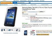 """""""Altes Eisen"""" zu einem guten Preis - Samsung Galaxy Tab 7"""" Wifi jetzt für knapp €350 in Deutschland verfügbar"""
