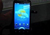 [Video]  Fabi und das HTC Sensation - Hands On