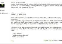 "Nvidia – kein Android 3.0 ""Honeycomb"" für ältere Tegra 2 Tablets?"