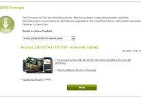 Archos veröffentlicht neues Update für die Internet Tablet Reihe