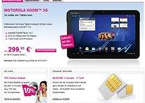 "Motorola Xoom 10.1"" Android 3.0 ""Honeycomb"" Tegra 2 Tablet ab 30. April bei Telekom erhältlich"
