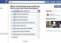 "Motorola Facebook Umfrage geht nach hinten los – ""Unlocked Bootloader First"""
