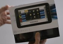 [AndroidPIT Exklusiv]  Was hat sich Dell nur dabei gedacht? - Dell Streak 7 mit unterirdischem Display wird ausgepackt