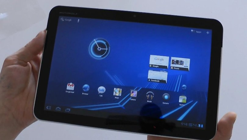 """Motorola XOOM – AndroidPIT """"First Look""""-Video & Engadget Deutschland Review"""