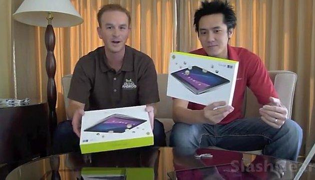 "[Google I/O] [Videos] Samsung Galaxy Tab 10.1 in ""mal etwas anderen"" Unboxing Videos"