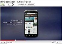 """[Video] HTC erlaubt """"einen genaueren Blick"""" auf das 4.3"""" Dualcore Smartphone """"Sensation"""""""