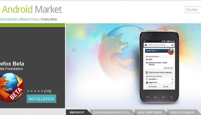 """Firefox für Android Beta jetzt mit """"Do Not Track""""-Option"""