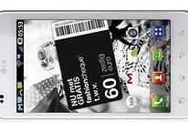 LG Optimus White, ähhh.. Black kommt auch in Weiß