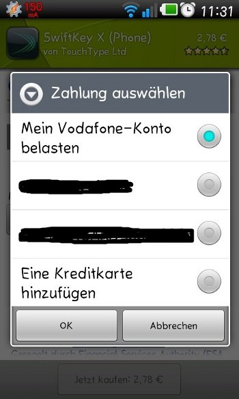 apps im android market jetzt bei vodafone per mobilfunk. Black Bedroom Furniture Sets. Home Design Ideas