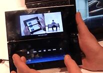 [IFA] Sony Tablet S und Tablet P im kurzen Hands-On