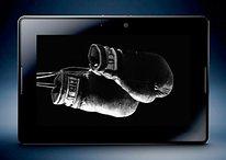 Galaxy Tab, Dell Streak, iPad und Blackberry PlayBook im Vergleich