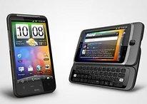 HTC Desire Z und HTC Desire HD kommen später als geplant