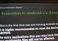Archos 70 mit Android 2.2 Testversion im Video