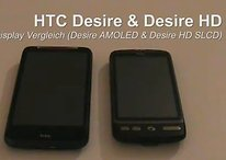 HTC Desire & Desire HD - Display Vergleich - Video