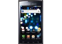 """Samsung Galaxy S """"Giorgio Armani Edition"""" wird ausgepackt – Video"""