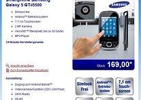 Galaxy 5 GT-I5500 für €169 bei Aldi Nord ab 25.11