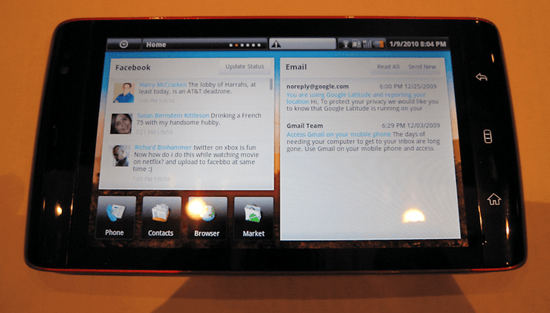 Dell Mini 5 Android Tablet – Bilder und Videos