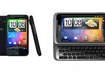 HTC Desire HD und HTC Desire Z offiziell vorgestellt