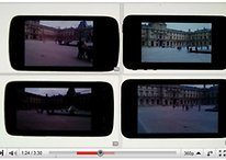 Display Vergleich im Video - Nexus One, HTC Desire, Galaxy S & iPhone 4