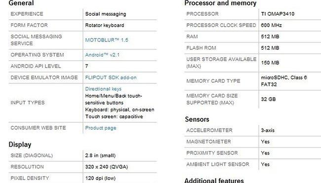 Motorola Flipout Review Part 01
