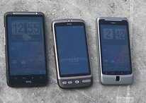 Bildergalerie vom HTC Desire HD und HTC Desire Z