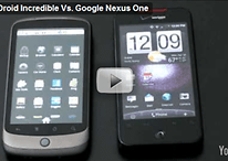 Droid Incredible VS Milestone, Nexus One & iPhone - Videos