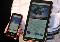 "5.5"" und 10.8"" ""Galapagos"" Android eBook Reader von Sharp im Video"