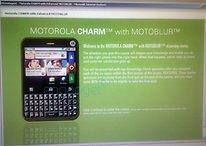 Motorola Charm - Blackberry Verschnitt im Quadrat