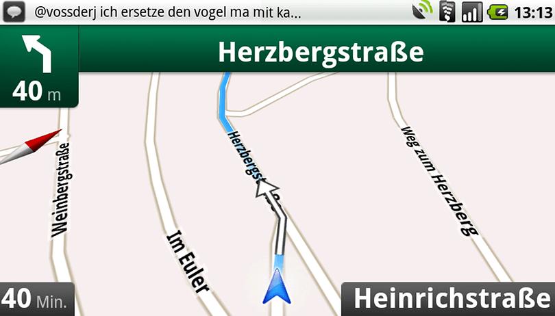 Google Navigation funktioniert in Deutschland wieder