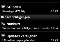 Nimbuzz 2.0 steht im Market zum Download bereit