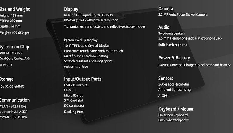 "NotionInk Android-Tablet ""Adam"" - Website gestartet"
