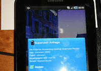 Root für das Samsung Galaxy Tab