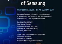 Samsung Event am 11. August - wird dort das Tablet vorgestellt?