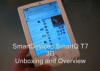 "Smart Devices SmartQ T7 3G - ""Billig-Tablet"" mit 3G im Video"
