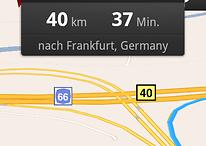 Modifizierte Google Maps Navigation (Brut)  mit neuen Features