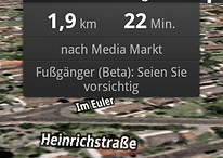 Google Maps jetzt mit Fußgängernavigation & Streetview