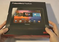 Unboxing Blackberry PlayBook - También puede ejecutar apps Android