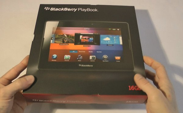 blackberry playbook unboxing hands on video