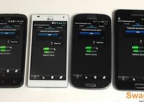 Comparación Samsung Galaxy S3, Note, HTC One X y LG Optimus 4X HD