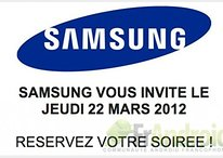 ¿La presentación del Samsung Galaxy S3 el 22 de marzo?